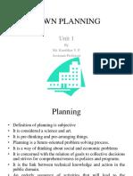 Town Planning Unit 1-2
