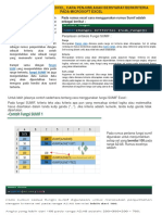 Penggunaan Sumif Di Excel
