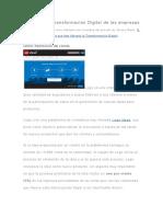 Ejemplos de Transformación Digital de las empresas.docx