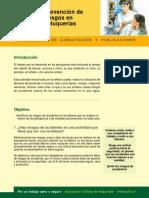 Prevencion de Riesgos en Peluquerias