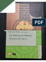 Tello_La música en México. Panorama del siglo XX