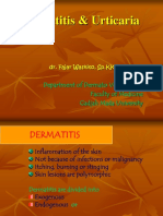 Dermatitis Dan Urtikaria Final