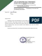 Permohonan Pembentukan Akun P3KGB Pengwil Kepulauan Riau