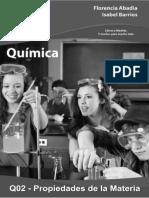 Q02 Propiedades de La Materia