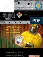 Gestion de Materiales Peligrosos