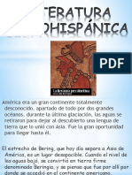 Literatura Prehispánica.