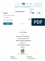 Www Scribd Com Doc 24688156 Project Report on Study of Mutual Funds Industry