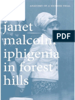 Janet Malcolm - Iphigenia in Forest Hills (Anatomy of a Murder Trial)