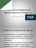 2- Cap2 El Valor de La Inteligencia de Negocios
