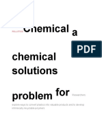 chemical solutios for a chemical problem.pdf