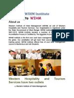 WHIM Institute