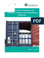 BestPracticeGuidelines for Loading Transport and Unloading of Flexitank 2018 GUIDELINES ROAD