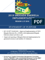 brigada eskwela implementation