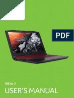 UM of Acer Nitro 5