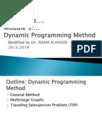Algo Mod9 Dynamic Programming Method