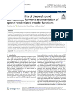Loudness Stability of Binaural Sound