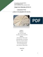ENSAYOS A LOS AGREGADOS DEL CONCRETO - FIC UNI (LAB. 03)