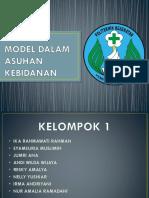 KELOMPOK 1 - MEDICAL MODEL DALAM ASUHAN KEBIDANAN.pptx