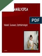 Amblyopia Inter Blok 22