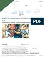 Lo Spam Occupa Il Telefono a Rischio La Privacy on Line - La Stampa