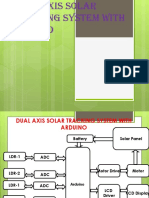 Dual Axis Solar Tracking System With Inverter