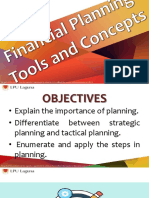 BFIN_10 Financial Planing Tools and Concepts Production Budget