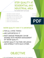 WATER QUALITY AT RESIDENTIAL AND INDUSTRIAL AREA.pptx