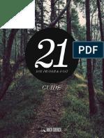 21 Day Prayer Fast Guide