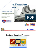Business Taxation Processes
