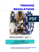 Masonry NC I (Superseded)
