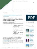 Indian 2018 Karizma Album Design 12x36 Psd Templates - StudioPk.pdf