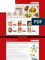 Online Food Ordering System C# Asp Screens