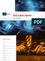 2018 Afp Risk Survey