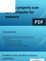 How to Properly Scan Your Computer for Malware.pptx
