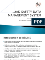 ROAD SAFETY DATA MANAGEMENT SYSTEM