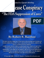 The Disease Conspiracy_ _The FDA Suppression of cures  - Robert Barefoot