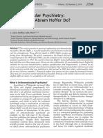 AbramHoffer Orthomolecular Psychiatry What Would Abram Hoffer Do 29.2