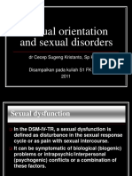 Sexual Orientation & Sexual Disorders_dr Cecep_kuliah S1 FK UGM_2011