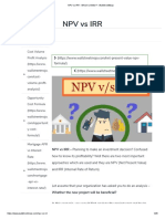 NPV vs IRR - Which is Better_ - WallStreetMojo