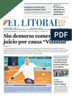 El Litoral Mañana 17/05/2019
