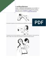 Reanimación cardiopulmonar shock administracion de medicamentos.docx
