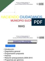 Diagnóstico y Programa Operativo-financiero Del Imas 20 10 Final