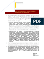 Condiciones Laborales Profesores en Francia