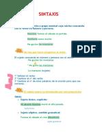 Apuntes de Oración Simple PDF