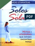 Solos y solas - Bernardo Stamateas.pdf