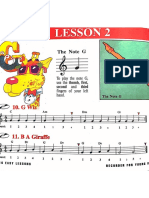 Recorder Lesson 2