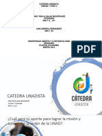 CATEDRA UNADISTA DIAPOSITIVA
