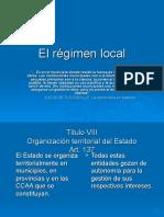 El Regimen Local
