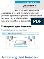 Transport Layer Intro