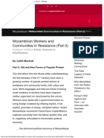 Mozambican Workers and Communities in Resistance (Part 2) - ROAPE